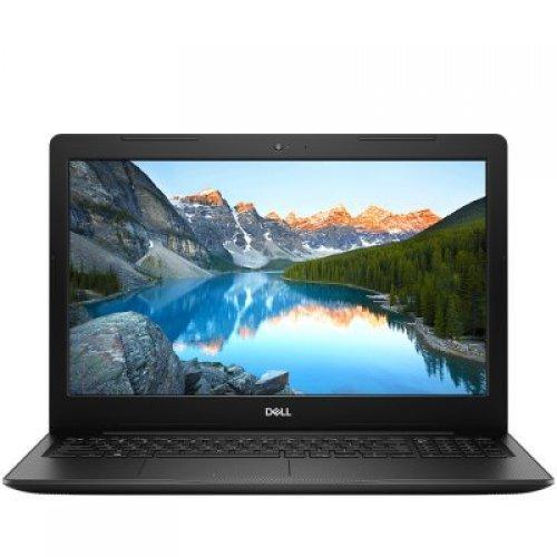 """Лаптоп Dell Inspiron 3593, черен, 15.6"""" (39.62см.) 1920x1080 (Full HD) без отблясъци 60Hz TN, Процесор Intel Core i7-1065G7 (4x/8x), Видео nVidia GeForce MX230/ 2GB GDDR5, 8GB DDR4 RAM, 1TB HDD 5400rpm диск, DVDRW, Linux Ubuntu ОС, Клавиатура- с БДС (снимка 1)"""