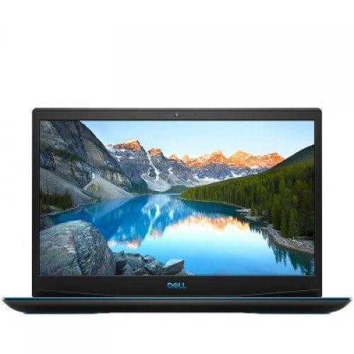 "Лаптоп Dell Inspiron G3 3590, 15.6"" (1920x1080) Anti-glare, Core i7-9750H (12MB, to 4.5 GHz, 6C), 8GB (2x4GB) DDR4 2666MHz, 256GB M.2 PCIe NVMe SSD + 1TB HDD, GTX 1660 Ti 6GB GDDR5, 802.11ac 1x1 + BT, Ubuntu, Eclipse Black, 3Y CIS (снимка 1)"