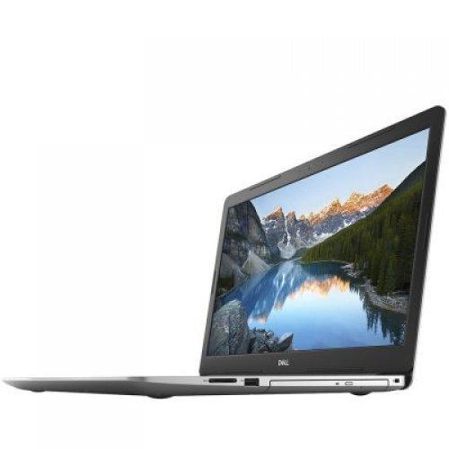 "Лаптоп Dell Inspiron 5770, сребрист, 17.3"" (43.94см.) 1920x1080 (Full HD) матов, Процесор Intel Core i3-7020U (2x/4x), Видео Intel HD 620, 4GB DDR4 RAM, 1TB HDD диск, без опт. у-во, Linux Ubuntu ОС (снимка 1)"