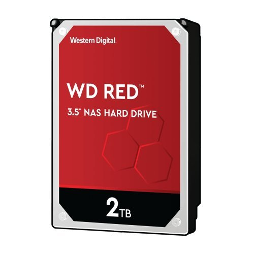 Твърд диск Western Digital 2TB, Red NAS 3.5, SATA 3, WD20EFAX (снимка 1)