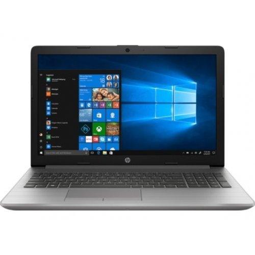 "Лаптоп HP 250 G7, сребрист, 15.6"" (39.62см.) 1920x1080 (Full HD) без отблясъци, Процесор Intel Core i3-8130U (2x/4x), Видео интегрирана, 8GB DDR4 RAM, 256GB SSD диск, DVDRW, DOS ОС (снимка 1)"