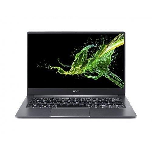 """Лаптоп Acer Swift 3 SF314-57G-7219, сребрист, 14.0"""" (35.56см.) 1920x1080 (Full HD) без отблясъци, Процесор Intel Core i7-1065G7 (4x/8x), Видео nVidia GeForce MX230/ 2GB GDDR5, 8GB DDR4 RAM, 512GB SSD диск, без опт. у-во, Windows 10 64 ОС, Клавиатура- светеща с БДС (снимка 1)"""