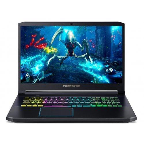 """Лаптоп Acer Predator Helios 300 PH317-53-73MU, черен, 17.3"""" (43.94см.) 1920x1080 (Full HD) без отблясъци IPS, Процесор Intel Core i7-9750H (6x/12x), Видео nVidia GeForce RTX 2060/ 6GB GDDR6, 16GB DDR4 RAM, 1TB SSD диск, без опт. у-во, Windows 10 ОС, Клавиатура- светеща с БДС (снимка 1)"""