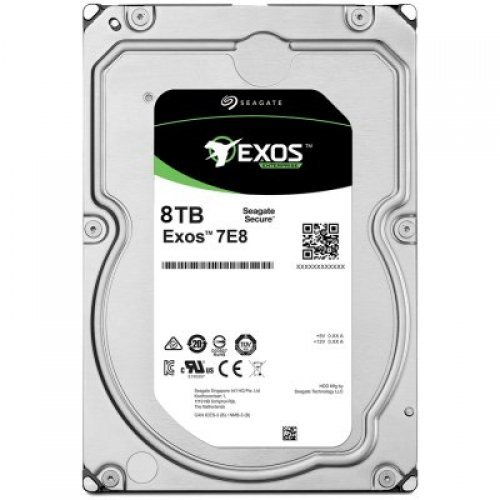 Твърд диск SEAGATE 8TB HDD Server Exos 7E8 512E/4kn (3.5'/SATA6GB/s/7200rpm) (снимка 1)