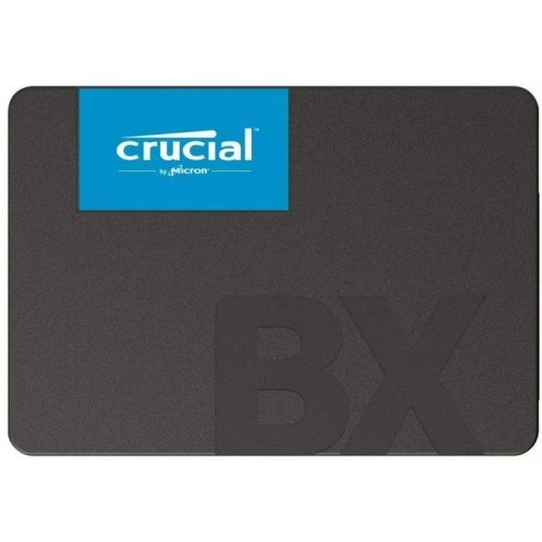 "SSD CRUCIAL 960GB BX500 SSD, 2.5"" 7mm, SATA 6 Gb/s, Read/Write: 540 / 500 MB/s (снимка 1)"