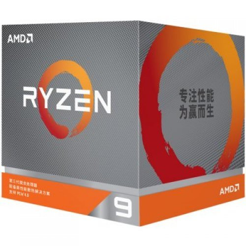 Процесор AMD Ryzen 9 3950X 16C/32T, s.AM4, 4.7GHz, 70MB, 105W, box, without cooler (снимка 1)