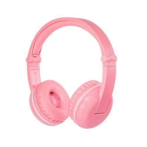 Слушалки BuddyPhones PLAY SAKURA Детски слушалки, Bluetooth, розови (снимка 1)