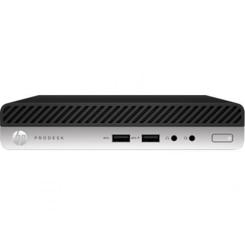 Настолен компютър HP HP ProDesk 400 G5 Desktop Mini, Intel Core i3-9100, 7EM17EA, Windows 10 Pro 64 (снимка 1)