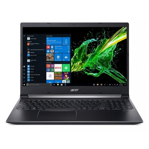 "Лаптоп Acer Аspire 7 A715-74G-51DS, NH.Q5TEX.00A_DSP-W115, 15.6"", CPU Intel Core i5-9300H (4x/8x) + Смарт контакт, DSP-W115 (снимка 1)"