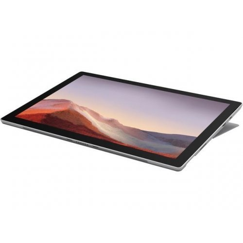 "Лаптоп Microsoft Surface Pro 7, сив, 12.3"" (31.24см.) 2736x1824 (WQXGA+) лъскав тъч, Процесор Intel Core i5-1035G4 (4x/8x), Видео Intel Iris Plus Gen 11, 8GB LPDDR4 RAM, 256GB SSD диск, без опт. у-во, Windows 10 64 ОС (снимка 1)"