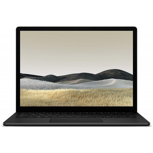 "Лаптоп Microsoft Surface Laptop 3, Core i5-1035G7 (6M Cache, up to 3.70 GHz), 13.5"" (2256x1504) PixelSense Display, Intel Iris Plus Graphics, 8GB RAM, 256GB SSD, Windows 10 Home, Black (снимка 1)"