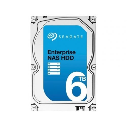 "Твърд диск Seagate 6TB Enterprise NAS, ST6000VN001, SATA3, 128MB, 7200rpm, 3.5"" internal, NAS (снимка 1)"