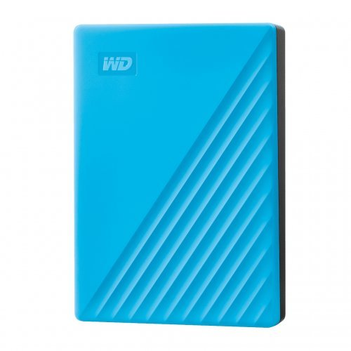 Външен твърд диск Western Digital 4TB USB 3.2 (Gen 1) MyPassport Sky Blue (снимка 1)