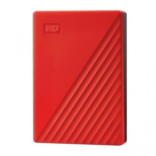 Външен твърд диск Western Digital 4TB USB 3.2 (Gen 1) MyPassport Red (снимка 1)