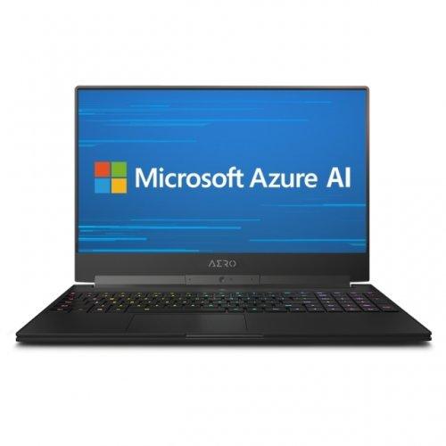 """Лаптоп Gigabyte AERO 15 CLASSIC-XA-7MY2130SP, черен, 15.6"""" (39.62см.) 1920x1080 (Full HD) без отблясъци 240Hz IGZO, Процесор Intel Core i7-9750H (6x/12x), Видео nVidia GeForce RTX 2070 w/ Max-Q Design/ 8GB GDDR6, 16GB DDR4 RAM, 512GB SSD диск, без опт. у-во, Windows 10 Pro ОС (снимка 1)"""
