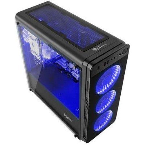 Компютърна кутия Genesis Irid 300 Blue Midi Tower Usb 3.0 (снимка 1)