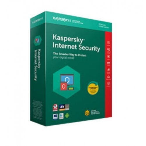 Антивирусен софтуер Kaspersky Internet Security 2020 - 1-Device, 1 year Renewal,Box (снимка 1)