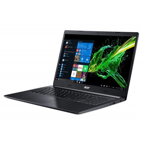 "Лаптоп Acer Aspire 5 A515-54G-52ZM, черен, 15.6"" (39.62см.) 1920x1080 (Full HD) без отблясъци IPS, Процесор Intel Core i5-10210U (4x/8x), Видео nVidia GeForce MX250, 8GB DDR4 RAM, 512GB SSD диск, без опт. у-во, Linux ОС (снимка 1)"