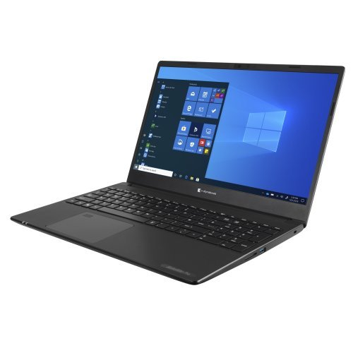 "Лаптоп Toshiba Dynabook Satellite Pro L50-G-13Q, черен, 15.6"" (39.62см.) 1920x1080 (Full HD) без отблясъци, Процесор Intel Core i3-10110U (2x/4x), Видео Intel UHD, 8GB DDR4 RAM, 256GB SSD диск, без опт. у-во, Windows 10 64 ОС (снимка 1)"