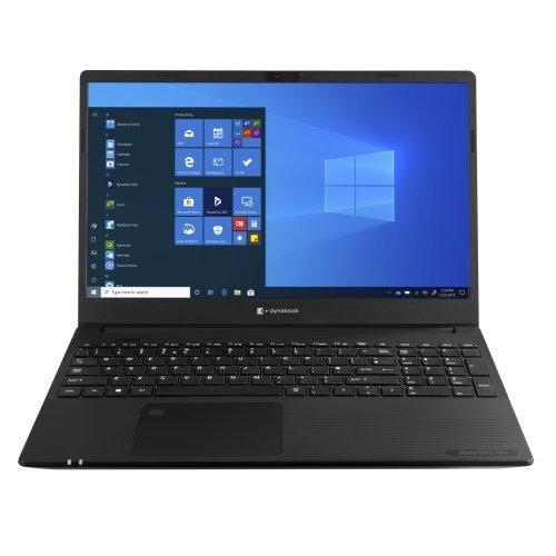 """Лаптоп Dynabook Satellite Pro L50-G-13L, черен, 15.6"""" (39.62см.) 1920x1080 (Full HD) без отблясъци, Процесор Intel Core i7-10710U (6x/12x), Видео Intel UHD, 8GB DDR4 RAM, 256GB SSD диск, без опт. у-во, Windows 10 64 ОС (снимка 1)"""