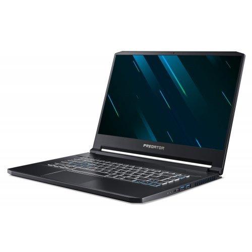 """Лаптоп Acer Predator Triton 500, черен, 15.6"""" (39.62см.) 1920x1080 (Full HD) без отблясъци IPS, Процесор Intel Core i7-9750H (6x/12x), Видео nVidia GeForce RTX 2080/ 8GB GDDR6, 16GB DDR4 RAM, 1.024TB SSD диск, без опт. у-во, Windows 10 ОС, Клавиатура- светеща с БДС (снимка 1)"""