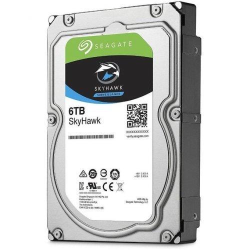 "Твърд диск Seagate 6TB SkyHawk Surveillance, ST6000VX001, SATA3, 256MB, 7200rpm, 3.5"" internal, DVR (снимка 1)"