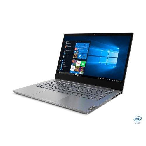 "Лаптоп Lenovo ThinkBook 14, сив, 14.0"" (35.56см.) 1920x1080 (Full HD) без отблясъци IPS, Процесор Intel Core i5-10210U (4x/8x), Видео интегрирана, 8GB DDR4 RAM, 256GB SSD диск, без опт. у-во, Windows 10 Pro 64 ОС, с БДС (снимка 1)"