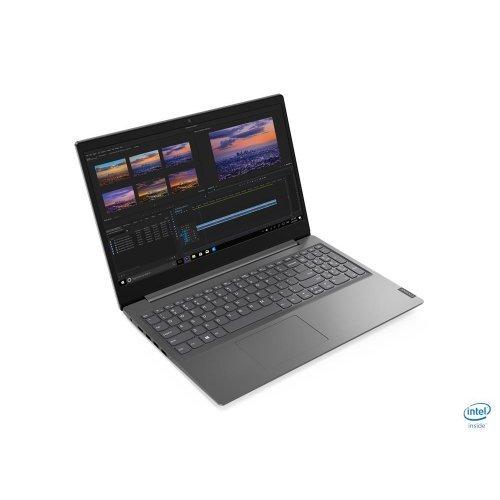 "Лаптоп Lenovo V15-IWL, сив, 15.6"" (39.62см.) 1920x1080 (Full HD) без отблясъци, Процесор Intel Core i5-8265U (4x/8x), Видео Intel UHD 620, 8GB DDR4 RAM, 512GB SSD диск, без опт. у-во, DOS ОС (снимка 1)"