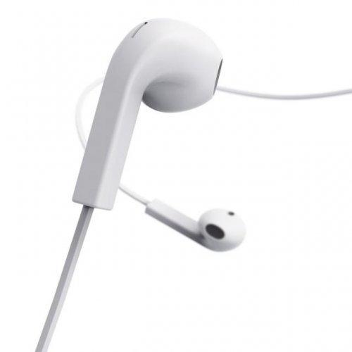 """Слушалки HAMA Earbuds """" Advance"""", Микрофон, Слушалки-тапи, Плосък кабел, Бял (снимка 1)"""