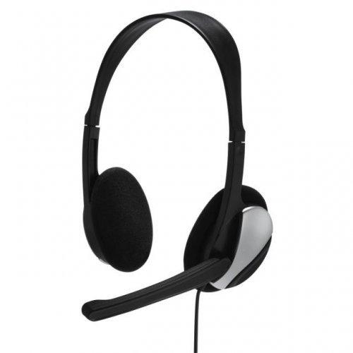 Слушалки HAMA Essential HS 200 139900, Микрофон, Черен (снимка 1)