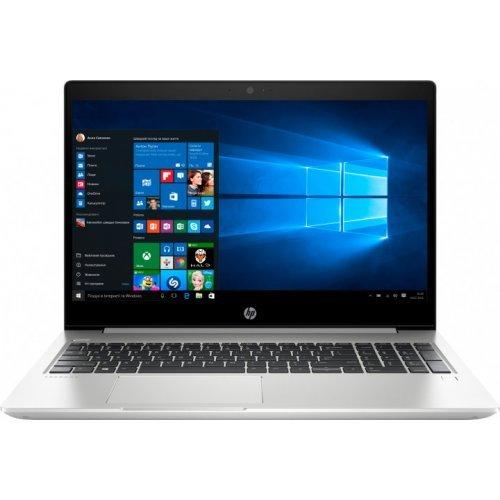 """Лаптоп HP 455 G6, сребрист, 15.6"""" (39.62см.) 1366x768 (HD) без отблясъци SVA, Процесор AMD Ryzen 3 3200U (2x/4x), Видео AMD Radeon Vega 3, 4GB DDR4 RAM, 128GB SSD диск, без опт. у-во, Windows 10 Pro 64 ОС (снимка 1)"""