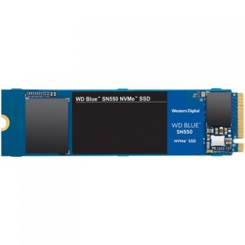 SSD Western Digital 500GB Blue SN550 (M.2, PCIe Gen3 8 Gb/s) (снимка 1)