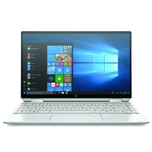 """Лаптоп HP Spectre x360 13-aw0005nu , сребрист, 13.3"""" (33.78см.) 1920x1080 (Full HD), Процесор Intel Core i7-1065G7 (4x/8x), Видео Intel Iris Plus Gen 11, 16GB LPDDR4 RAM, 1TB SSD диск, без опт. у-во, Windows 10 64 ОС, Клавиатура- светеща с БДС (снимка 1)"""