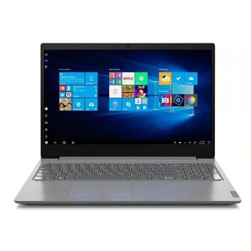 "Лаптоп Lenovo V15, сребрист, 15.6"" (39.62см.) 1920x1080 (Full HD), Процесор Intel Core i7-8565U (4x/8x), Видео Intel UHD 620, 8GB DDR4 RAM, 512GB SSD диск, без опт. у-во, DOS ОС, Клавиатура- с БДС (снимка 1)"