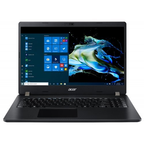 "Лаптоп Acer TravelMate P215-52-55D4, черен, 15.6"" (39.62см.) 1920x1080 (Full HD), Процесор Intel Core i5-10210U (4x/8x), Видео Intel  HD, 8GB DDR4 RAM, 256GB SSD диск, без опт. у-во, Windows 10 Pro 64 English EDU only ОС, Клавиатура- с БДС (снимка 1)"