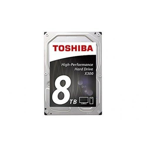 Твърд диск Toshiba 8TB X300 - High-Performance Hard Drive (7200rpm/128MB),BULK (снимка 1)