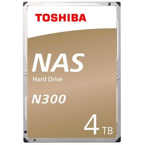 """Твърд диск Toshiba 4TB N300 NAS Hard Drive 128MB 3.5"""" BULK (снимка 1)"""