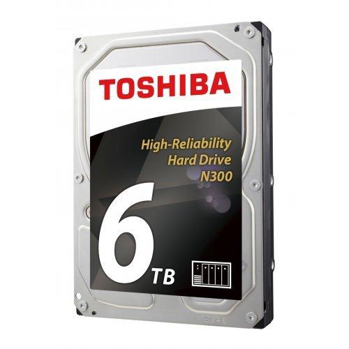 Твърд диск Toshiba 6TB N300 NAS - High-Reliability Hard Drive BULK (снимка 1)