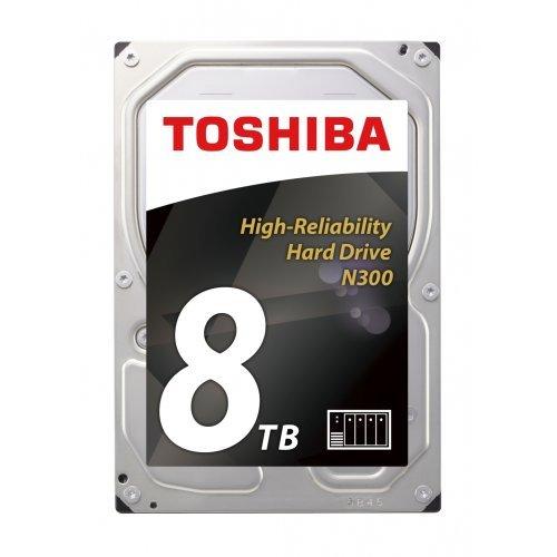 """Твърд диск Toshiba 8TB N300 NAS Hard Drive 128MB 3.5"""" BULKs (снимка 1)"""