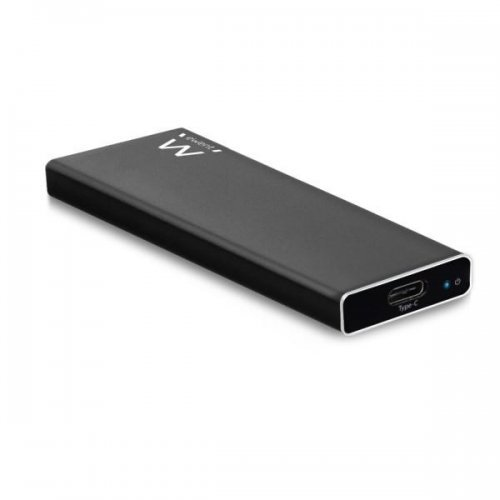 Кутия за диск Ewent EW7024, M.2 PCIe NVMe SSD, USB-C 3.1 Gen2, Черен (снимка 1)