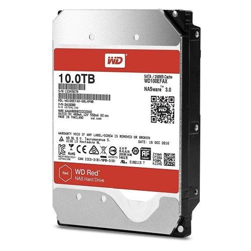 Твърд диск Western Digital 10TB, Red NAS 3.5, SATA3 5400rpm 256MB (снимка 1)