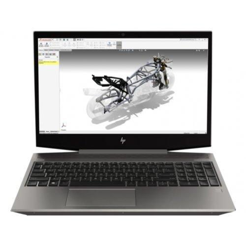 "Лаптоп HP Zbook 15v G5, сив, 15.6"" (39.62см.) 1920x1080 (Full HD) IPS, Процесор Intel Core i7-9750H (6x/12x), Видео nVidia Quadro P620/ 4GB GDDR5, 16GB DDR4 RAM, 512GB SSD диск, без опт. у-во, Windows 10 Pro 64 ОС (снимка 1)"