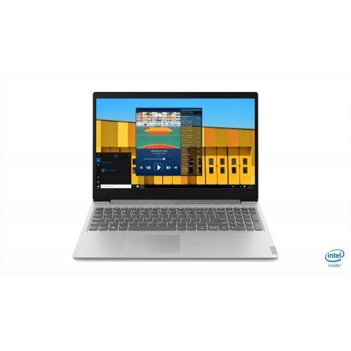 """Лаптоп Lenovo IdeaPad S145, сив, 15.6"""" (39.62см.) 1366x768 (HD) без отблясъци, Процесор Intel Celeron Dual-Core N4000, Видео интегрирана, 4GB DDR4 RAM, 256GB SSD диск, без опт. у-во, DOS ОС (снимка 1)"""