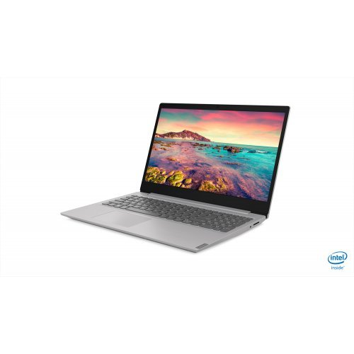 "Лаптоп Lenovo IdeaPad S145, сив, 15.6"" (39.62см.) 1920x1080 (Full HD), Процесор Intel Pentium Quad-Core N5000, Видео интегрирана, 4GB DDR4 RAM, 1TB HDD диск, без опт. у-во, DOS ОС (снимка 1)"