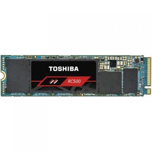 SSD TOSHIBA 250GB RC500 SSD, M.2 2280, NVMe PCIe Gen3 x4L, Read/Write: 1700 / 1200 MB/s, Random Read/Write IOPS 190K/290K (снимка 1)