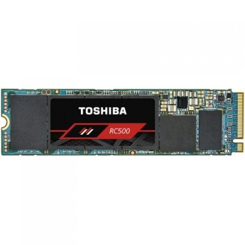 SSD TOSHIBA 500GB RC500 SSD, M.2 2280, NVMe PCIe Gen3 x4L, Read/Write: 1700 / 1600 MB/s, Random Read/Write IOPS 290K/390K (снимка 1)