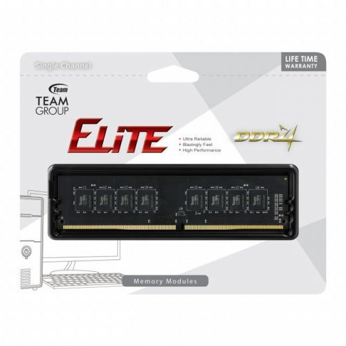 RAM памет DDR4 PC 4GB 3000MHz, Team Group Elite, CL22-22-22-52 (снимка 1)