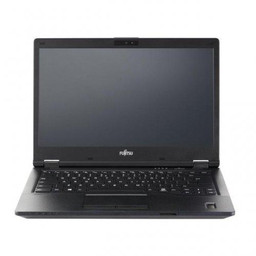 """Лаптоп Fujitsu S26391-K483_v100_VSP_I5, черен, 14.0"""" (35.56см.) 1920x1080 (Full HD), Процесор Intel Core i5-8250U (4x/8x), Видео Intel UHD, 8GB DDR4 RAM, 256GB SSD диск, без опт. у-во, без ОС, Клавиатура- с БДС (снимка 1)"""
