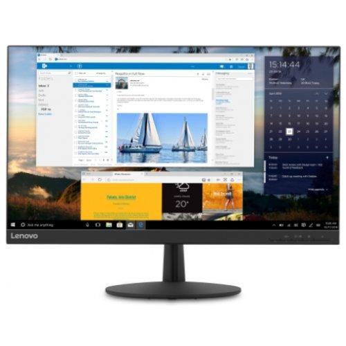 """Монитор Lenovo 23.8"""" L24Q-30, 65FBGAC1EU, 2560x1440 / 16:9 / WQHD 2K, IPS, 300 nits, HDMI/ DisplayPort DP (снимка 1)"""