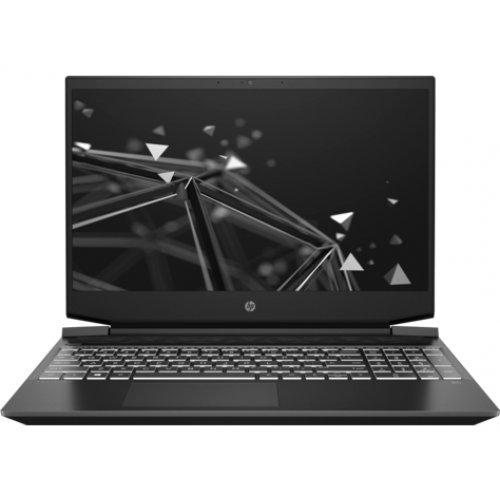 "Лаптоп HP Pavilion - 15-ec0059nu, черен, 15.6"" (39.62см.) 1920x1080 (Full HD) 144Hz IPS, Процесор AMD Ryzen 7 3750H (4x/8x), Видео nVidia GeForce GTX 1650/ 4GB GDDR5, 8GB DDR4 RAM, 256GB SSD диск, без опт. у-во, DOS ОС (снимка 1)"